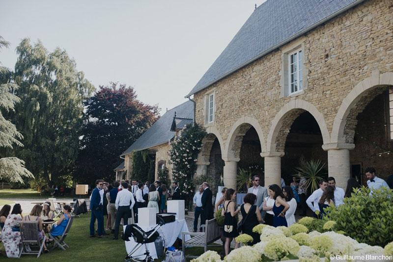 Mariage champetre Manoir de Chivré
