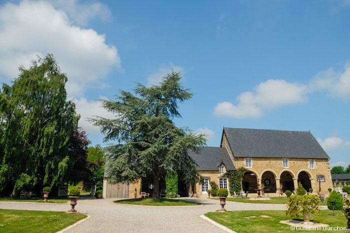 Domaine bucolique normndie mariage Manoir de Chivré