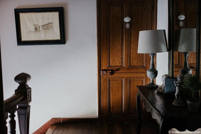 Intérieur décoration Manoir de Chivré Normandie