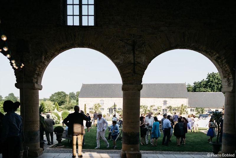 Cocktail mariage manoir de Chivré